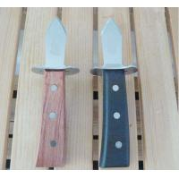 Wholesale High quality oyster knife with PP handle, wooden handle from china suppliers