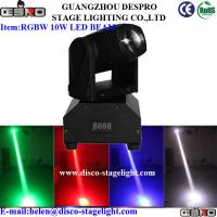 Buy cheap RGBW Cree LED Moving Head Spot Portable DMX Stage Light For Wedding from wholesalers