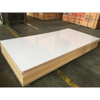 Wholesale malamine faced mdf /Cheap price Medium Density Fiberboard/MDF/HDF/ laminated board/3mm/5mm titanium white melamined mdf from china suppliers