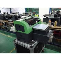 Wholesale Small Format Desktop UV Printer A4 , Multifunctional Flatbed Fabric Printing Machines from china suppliers