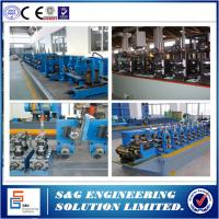Quality Low - Carbon Steel Spiral Welded Pipe Machine Line Witn Cold Roll Forming Machine for sale