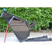 Wholesale Full Suspension Steel 5000w Electric Enduro Bike Frame 135-155mm Drop Out from china suppliers