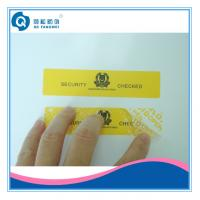 Wholesale Security Seal Labels , Color Printing Tamper Resistant Stickers For Computer from china suppliers