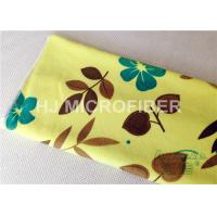 Wholesale Custom Printed Microfiber Cloths Towels For Face / Hand Drying , Cleaning Rags from china suppliers