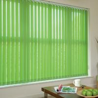 Wholesale 127mm 100% polyester fabric vertical blinds for windows with low aluminum headrail from china suppliers
