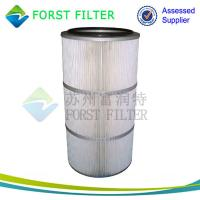 Wholesale FORST Supply Industrial Polyester Dust Material Cleaning Air Filter Cartridge from china suppliers
