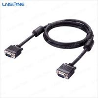 China Linsone black male scart to vga cable on sale