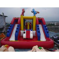 Wholesale PVC Tarpaulin Outdoor Inflatable Water Slide For Kids Funny Amusement Games from china suppliers