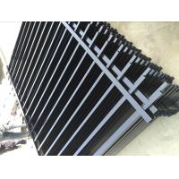 Wholesale 2400mm width  Crimped spear metal garrison fence supplier from china suppliers