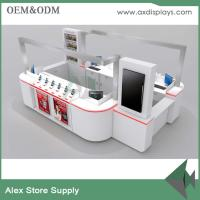 Wholesale Accessories mall kiosk laptop computer,mobile watch phones,cell phone accessory display MDF from china suppliers