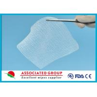 Wholesale Cotton Non Woven Gauze Swabs 10 x 10 , X-ray Detectable Gauze Swabs from china suppliers