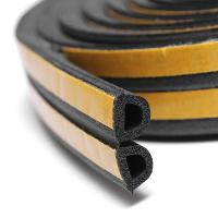 Quality sponge foam EPDM rubber sealing strip self adhesive for house car door trim sealing for sale