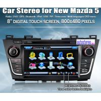 Wholesale Touch Screen Japanese Car Stereo Autoradio Mazda 5 Navigation System from china suppliers