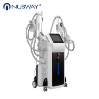 Buy cheap Professional CE approved 4 Handles cryolipolysis fat freezing body slimming machine with good price from wholesalers