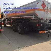 Wholesale SINOTRUK HOWO OIL TANK TRUCK 8X4 38000L  266-371HP With oil pump and Pipe  EURO2/3 LHD or RHD from china suppliers