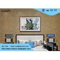Wholesale Eco Friendly Mica Stone Wallpaper , Modern Removable Wallpaper With Particles from china suppliers