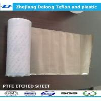 Wholesale 0.5mm, 0.8mm, 1mm,1.5mm sodium PTFE skived sheet for mathine parts from china suppliers