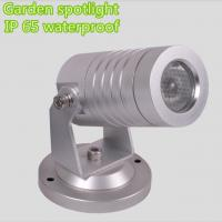 Wholesale Mini 3W IP65 Outdoor LED Garden Lights 24 Volt , Stainless Steel Garden Spike Lights from china suppliers