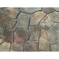 Wholesale Natural Paving Stone Rusty Slate Irregular Stone Crazy Stone Multicolor Stepping Stone from china suppliers
