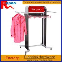 Wholesale Garment Display Racks,Counter Top Style T-shirt Bag Rack,Double-Rail Fold Up Clothing from china suppliers