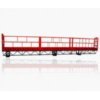 Wholesale Custom Red Steel Wire Rope Suspended Platform, Hanging Platform Cradle for Construction from china suppliers
