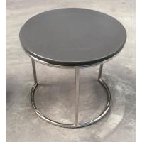 Wholesale stone top metal end table/side table/coffee table for hotel furniture TA-0078 from china suppliers