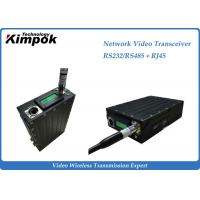Wholesale RS-232/RS-485 Network Video Transceiver , Wireless HD Transmitter Two Way Transmission from china suppliers