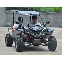 Wholesale 125cc Children Go Karts With Shaft Driving System / 2 Seater Go Kart from china suppliers