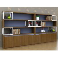 Wholesale Classic Cherry Wood Office Furniture Bookcase Large Size Scratch Resistant from china suppliers
