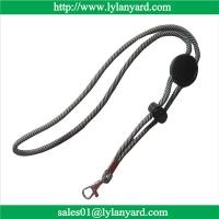 Wholesale Wholesale Adjustable Round Woven Cord Lanyard, Durable Woven Lanyards from china suppliers