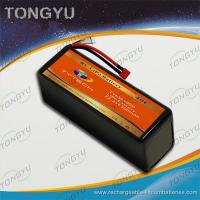 Wholesale Rechargeable UAV 6S 22.2V 6500mAh 40C LiPo RC Battery Pack from china suppliers