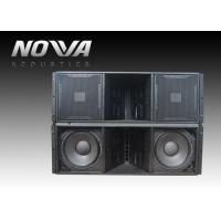 Quality ActiveLine Array Sound System , Ground Stack Line Array Powered Speakers for sale