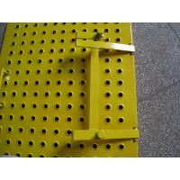 Wholesale Yellow Scaffolding Ladder Steel Trap Door / Ladder Access Hatch Door For Construction from china suppliers