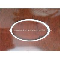 Wholesale PTFE Hydraulic Cylinder Seals , Pure White Excavator Air Cylinder Seals from china suppliers