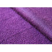 Wholesale 160-330gsm Anti - Static Recycled Fleece Fabric Purple For Bedding Set from china suppliers