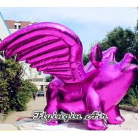 Wholesale New Inflatable Purple Flying Pig for Concert and Mall Decoration from china suppliers