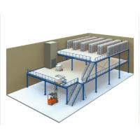 Wholesale Powder Coating Industrial Steel Mezzanine Floors With Walkways For Warehouse from china suppliers