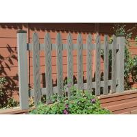Wholesale Exterior WPC Fence / Garden Composite Deck Railing Gray , Knurling Effect from china suppliers