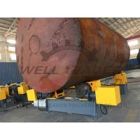 Buy cheap Bolt shift Adjustment Pipe Turning Rolls 12Ton 2000mm Diameter SKF Bearing Schneider electiricals from wholesalers