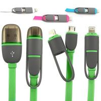 Wholesale Retractable 2 In 1 Universal Cell Phone Usb Cable Sync Data Charging from china suppliers