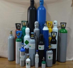 Quality SRGT -LA 20L High Pressure Aluminum Gas Cylinder L Safety Gas Cylinder for Medical use for sale