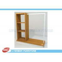 Wholesale ISO Multi Functional Clothing Display Racks For Store , MDF Display Shelving from china suppliers