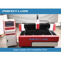 Wholesale Red Germany IPG Fiber Laser Cutting Machine , Precision metal laser cutter from china suppliers
