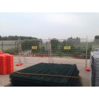 Wholesale Temporary Fencing panels ,hot dipped galvanized temp fencing panels OD 32 pipes x 2.00mm 2100mm x 2400mm from china suppliers