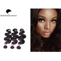 Wholesale 100% Natural Black Human Hair , Tangle And Shedding Free Burmese Hair Extension from china suppliers