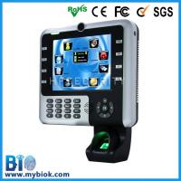 Wholesale Large Touch Screen Fingerprint office time control Recorder Bio-Iclock2500 from china suppliers