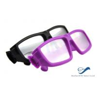 Wholesale Plastic Frame Circular Polarized 3D Glasses Anti Scratch For Cinema from china suppliers