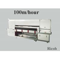 Quality 1800 mm Pigment Digital Textile Printing Machine On Clothes 8 Ricoh Gen 5 for sale
