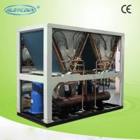 Quality Electronic scroll type air to Water Cooler Chiller / noiseless air cooled scroll chiller for sale