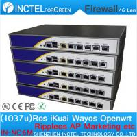 Wholesale The latest dual core machine 1037U routing software flow control RIPPLEOS openwrt ROS firewall from china suppliers